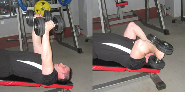 decline tricep extension