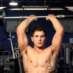 Standing Overhead Tricep Barbell Extension 站姿槓鈴臂屈伸