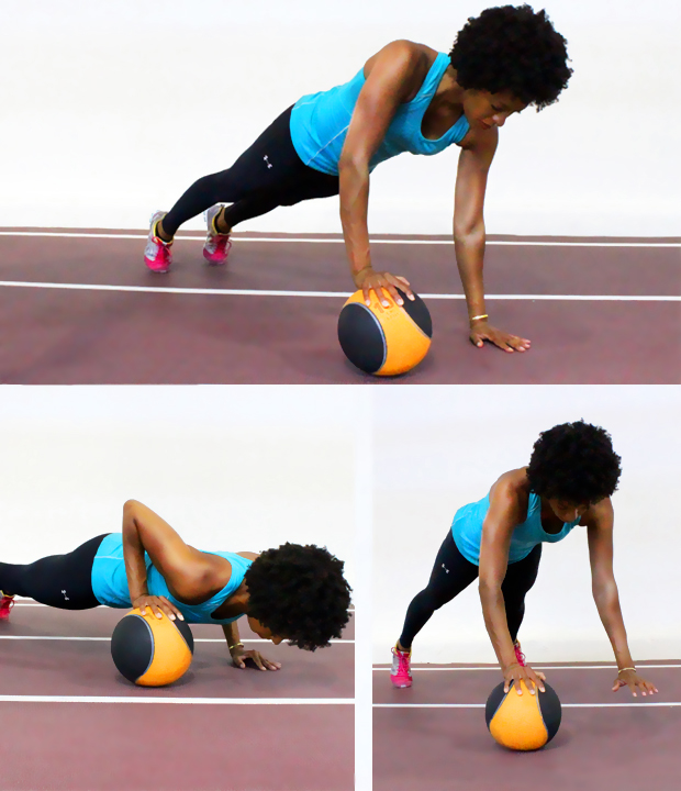 Med-Ball-Push-Ups