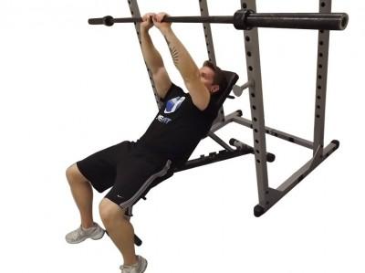 close grip incline bench press