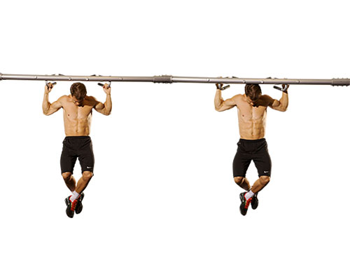 Behind Neck Pull Up
