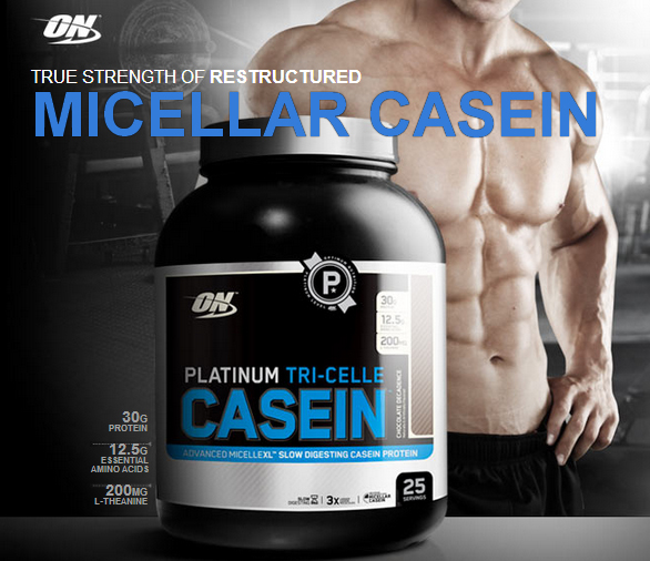 ON Platinum Tricelle casein banner