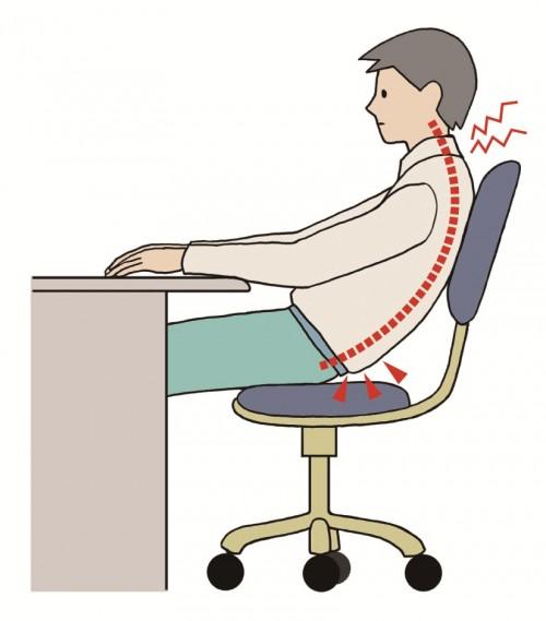bad sitting posture 2