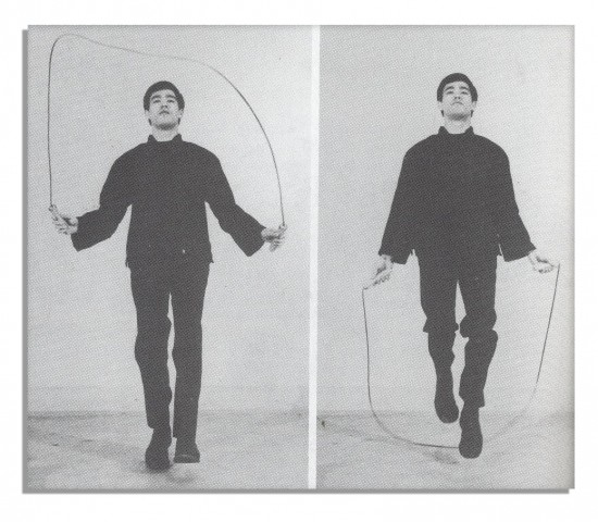bruce jumping rope
