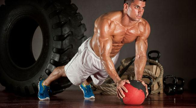medicine-ball-strength-training-pushup
