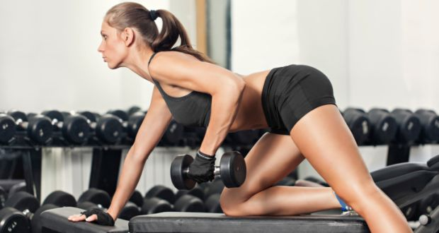 One-arm-dumbbell-row