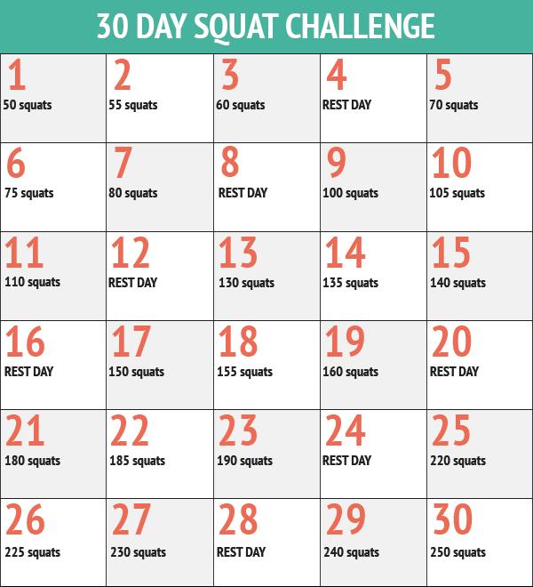 30天深蹲挑戰