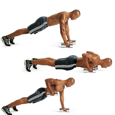 push up to row