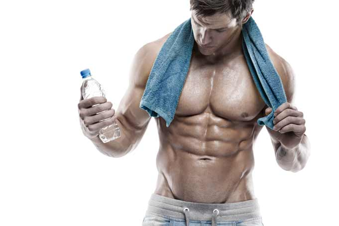 bodybuilder-water-fat-loss