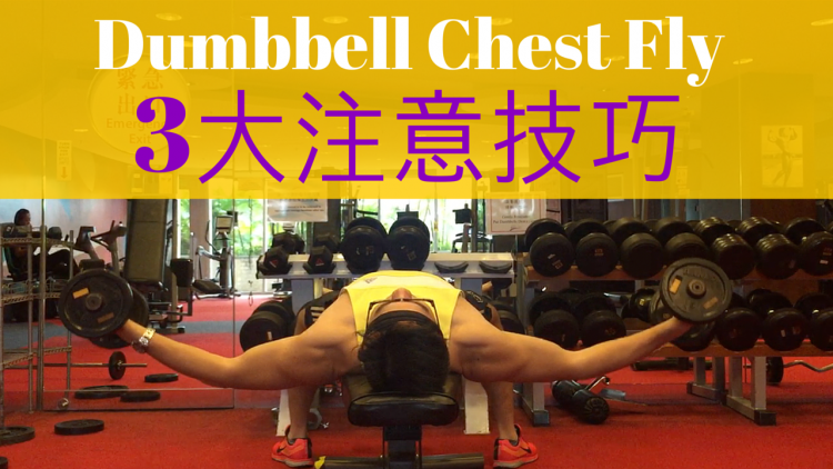 Dumbbell Chest Fly 三大注意技巧