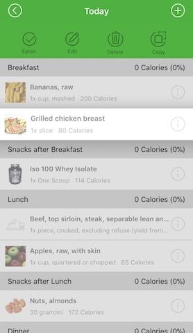 Meal Plan 餐單